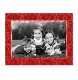 boatman geller damask red photocard