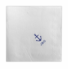 boatman geller dinner napkin with icon