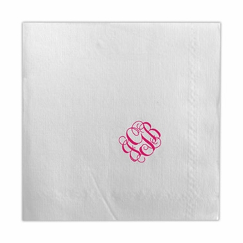 boatman geller dinner napkin without icon