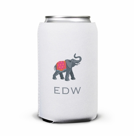 boatman geller elephant can koozie