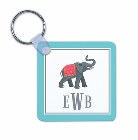 boatman geller elephant key chain