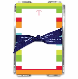 boatman geller espadrille bright acrylic note sheets