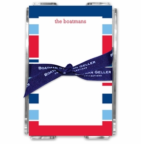 boatman geller espadrille nautical acrylic note sheets