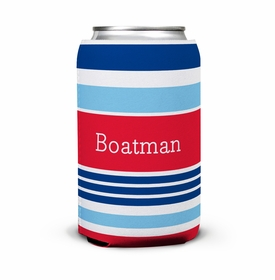 boatman geller espadrille nautical can koozie