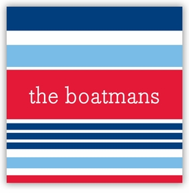 boatman geller espadrille nautical square sticker