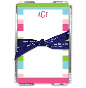 boatman geller espadrille preppy acrylic note sheets