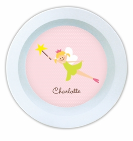 boatman geller fairy portrait melamine bowl