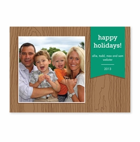 boatman geller faux bois emerald photocard