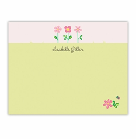 boatman geller garden flat small flat notecard