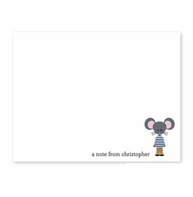 boatman geller george small flat notecard