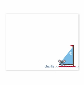 boatman geller george the sailor small flat notecard