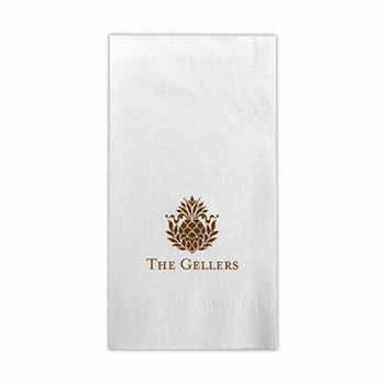 boatman geller guest towel with icon