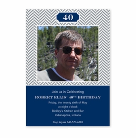 boatman geller herringbone gray flat photocard