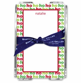 boatman geller ho ho ho acrylic note sheets