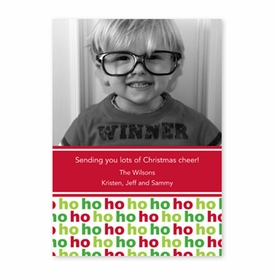 boatman geller ho ho ho photocard