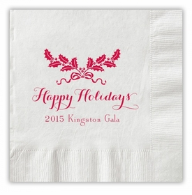 Holiday Swag Napkins