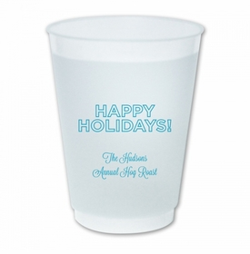 Holidays Outlined Cups