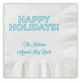 Holidays Outlined Napkins