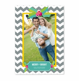boatman geller holly chevron gray photocard