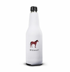 boatman geller horse bottle koozie
