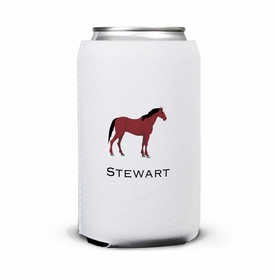 boatman geller horse can koozie
