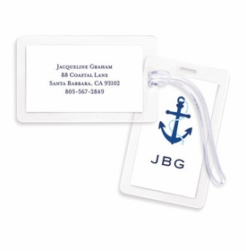 boatman geller icon anchor bag tags