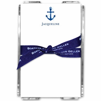 boatman geller icon anchor note shets in the acrylic note sheets