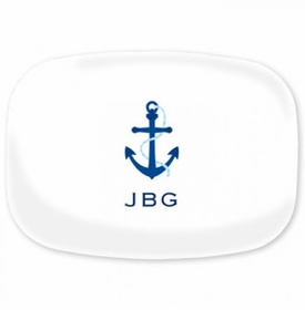 boatman geller icon anchor platter