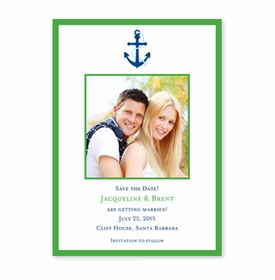 boatman geller icon anchor with border flat photocard
