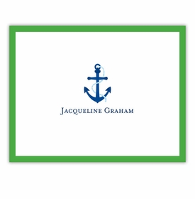 boatman geller icon anchor with border foldover notes
