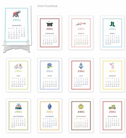 boatman geller icon calendar cards