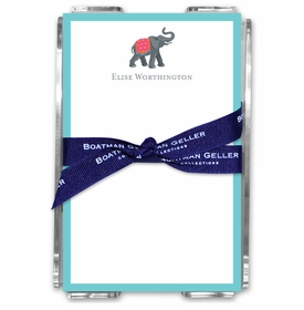 boatman geller icon elephant acrylic note sheets