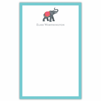 boatman geller icon elephant with border notepad