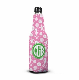 boatman geller jetties bubblegum bottle koozie