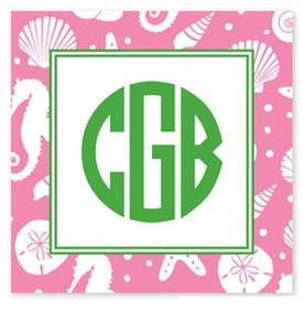 boatman geller jetties bubblegum square sticker