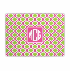 boatman geller kate raspberry & lime cutting board