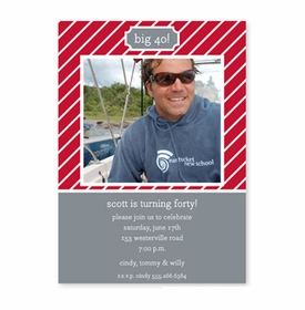 boatman geller kent stripe cherry flat photocard