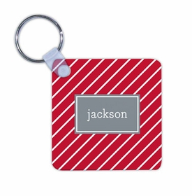 boatman geller kent stripe cherry key chain