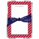 boatman geller kent stripe cherry note sheets in acrylic