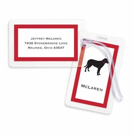 boatman geller lab black bag tags