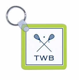 boatman geller lacrosse key chain