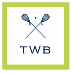 boatman geller lacrosse square sticker