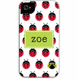 boatman geller ladybugs repeat cell phone case