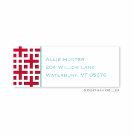 boatman geller lattice cherry address labels