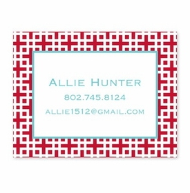 boatman geller lattice cherry calling card