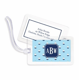 boatman geller little sailboat bag tags