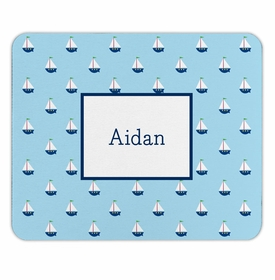 boatman geller little sailboat mouse pad