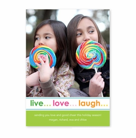boatman geller live love laugh photocard