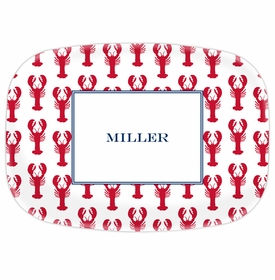 boatman geller lobsters red platter