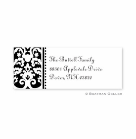 boatman geller madison black address labels